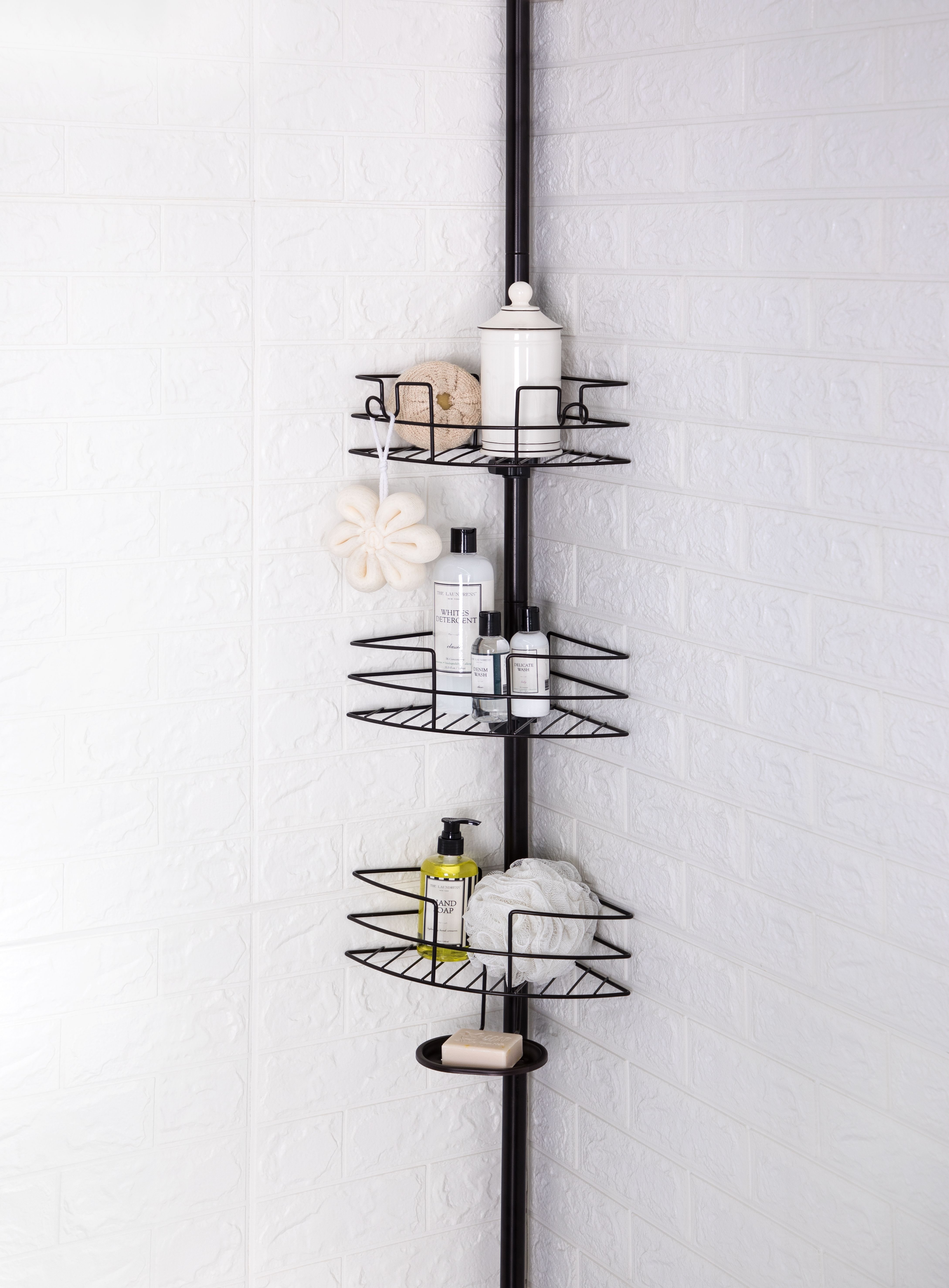 Home Improvement In 2020 Corner Shower Caddy Wire Shelving