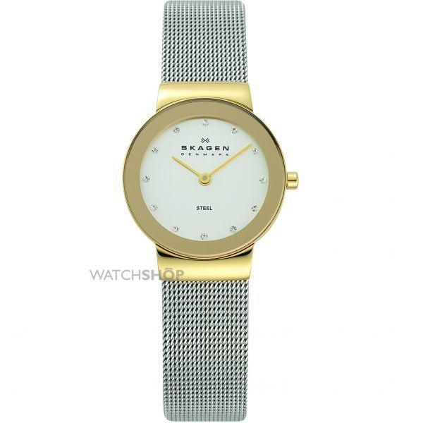 c07e2c662208 Ladies  Skagen Freja Watch. Gold WatchesLadies WatchesJewelry WatchesMesh  BandStainless Steel ...