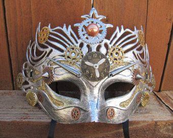 Mask, Steampunk, Cosplay Mask, Steampunk Mask, Mardi Gras Mask, Fantasy Mask, Gears, Steampunk Costume, Michanical, Masquerade Mask, Unisex
