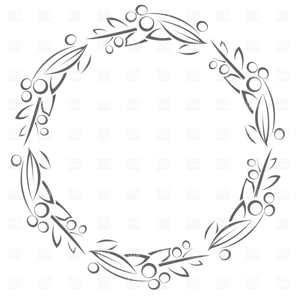 Vector Floral Circle Поиск в Google (With images