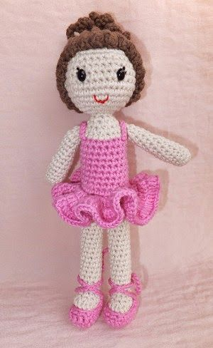 Ballerina Crochet Pattern Free Amigurumi Patterns Crocheted Toys