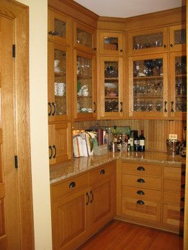 Inset Doors No Hinges Bronze Handles Prairie French Provencial Traditional Kitchen Chicago Marius Dau Oak Kitchen Glass Kitchen Cabinet Doors Kitchen