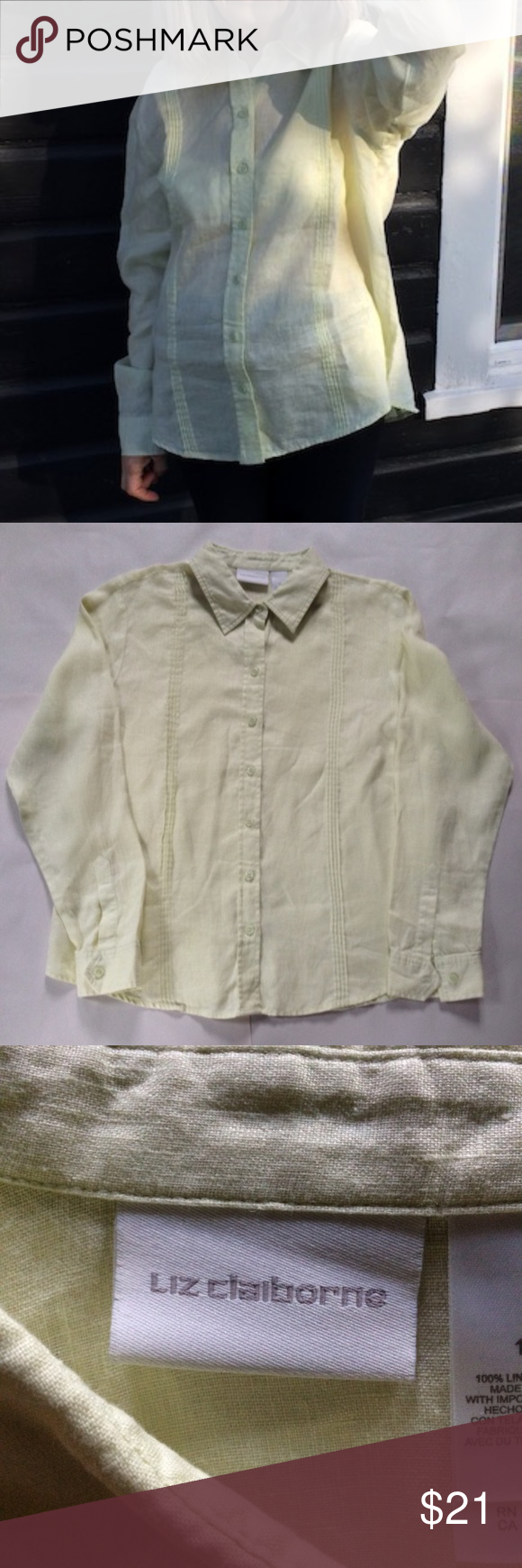 ee7ce1ac443 Liz Claiborne Linen Shirt – Rockwall Auction