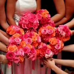 DIY Wedding Flower Package of 200 Roses and 6000 Rose Petals: Perfect for DIYers. Shipped fresh to your door. Choose your favorite colors. $439.99 #Flowers #Wedding