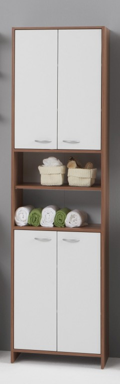 Sparta Tall Bathroom Storage Cupboard With 4 Doors $140 inc delivery