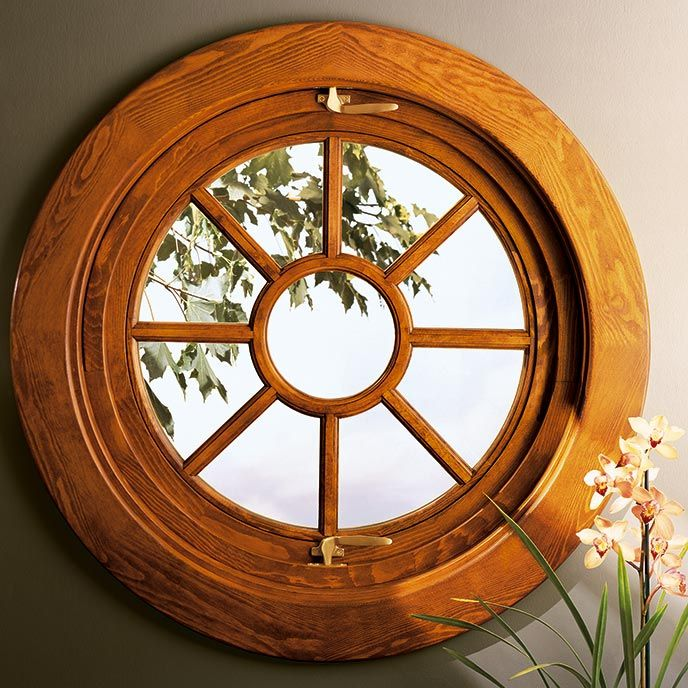 the marvin round pivot window provides a perfect design