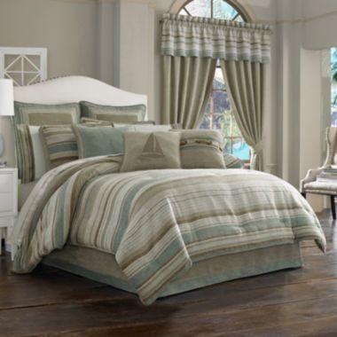 Queen Street 174 Nantucket 4 Pc Jacquard Comforter