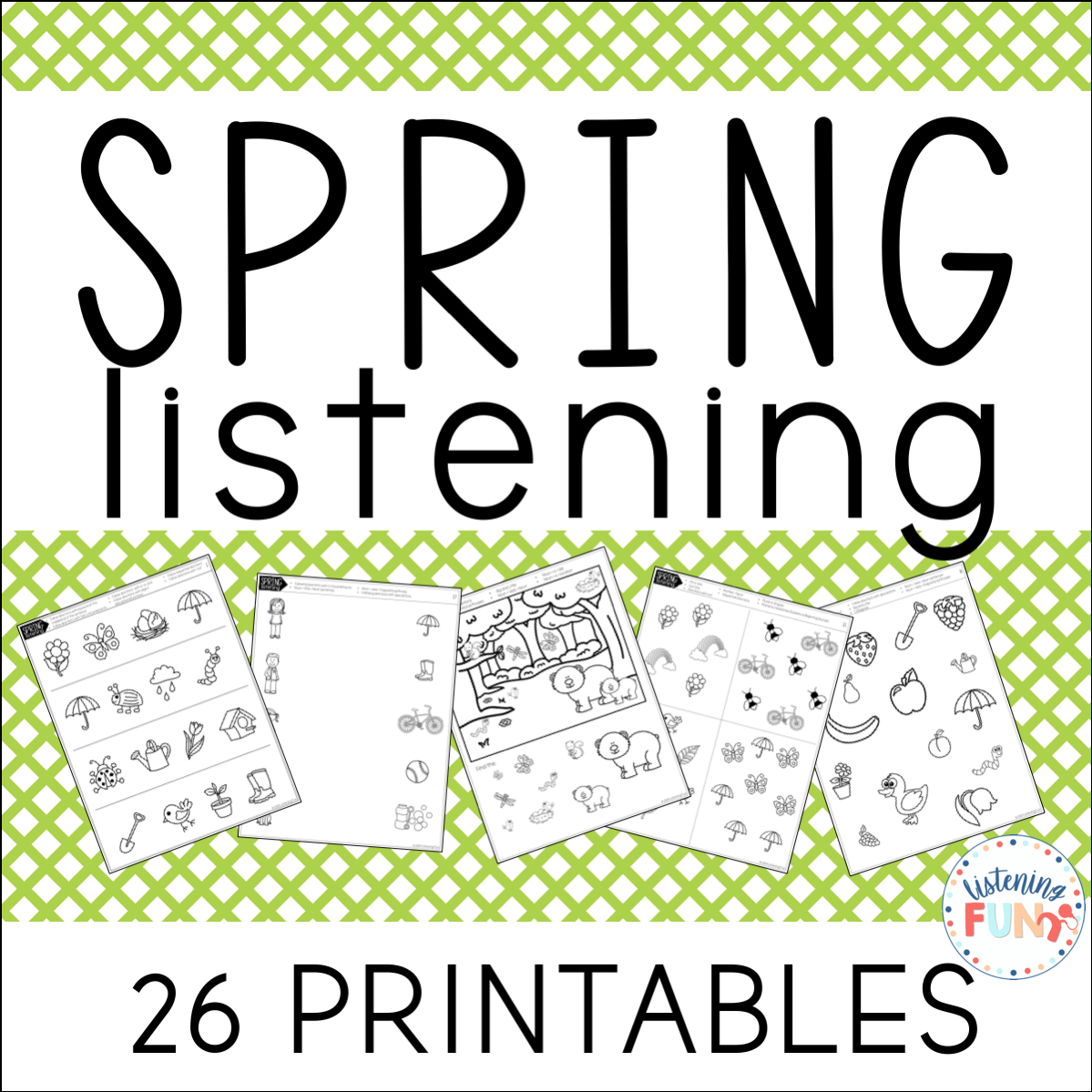 Spring Books For Listening And Spoken Language