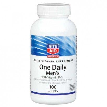 Rite Aid One Daily Men S Multi Dietary Supplement 100 Ct Rite Aid Dietary Supplements Supplements
