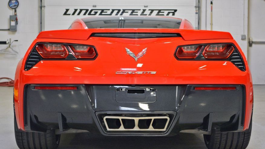 Lingenfelter Unveils Wide Body Kit For The C7 Corvette Wide Body
