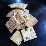 Gluten free Paleo crackers - Delish and only 4 ingredients...cooked in 10-15mins. MUST TRY!