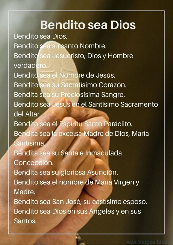 Galería Oraciones 2 – Adri Vargas Blog   Oraciones, Oraciones catolicas, Frases espirituales