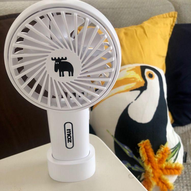 ミニ扇風機 コンビニで買える携帯扇風機がオシャレすぎる 2020 扇風機 美容ブログ ダイエット インスタ