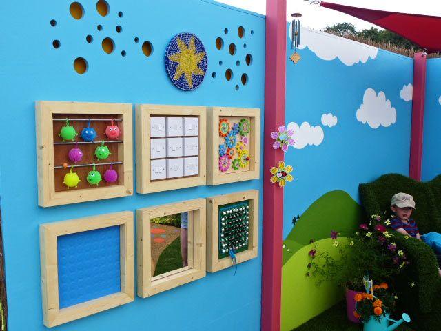 outdoor sensory wall panels - Google Search | Kids art ...