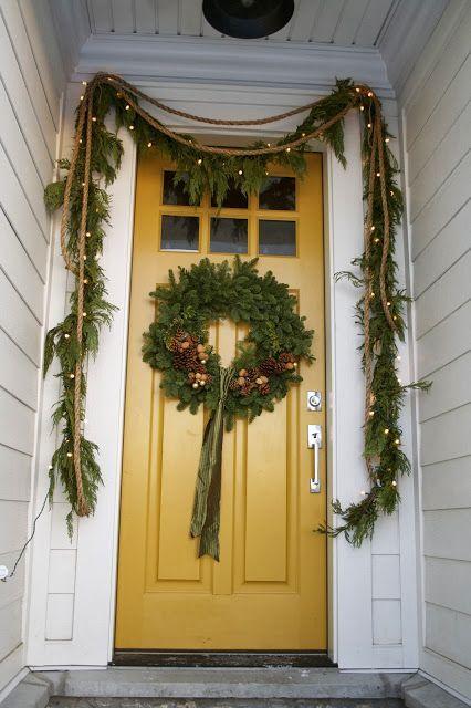 Yellow House Exterior Porch