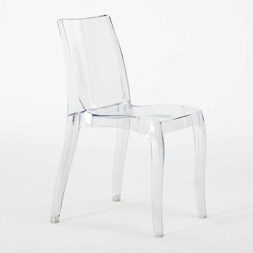 Sedie Trasparenti In Plastica.Sedie Cucina E Bar Trasparenti Policarbonato Impilabile Cristal