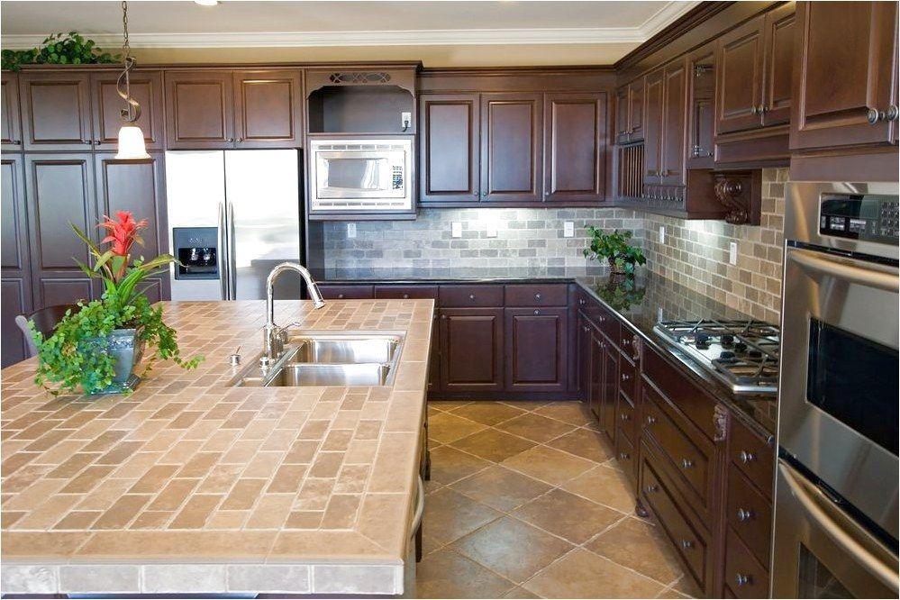How To Maintain Porcelain Ceramic Tile Tile Counter Top Kitchen Back Splash Flooring I Think T Modern Kitchen Tiles Tile Countertops Kitchen Countertop Design