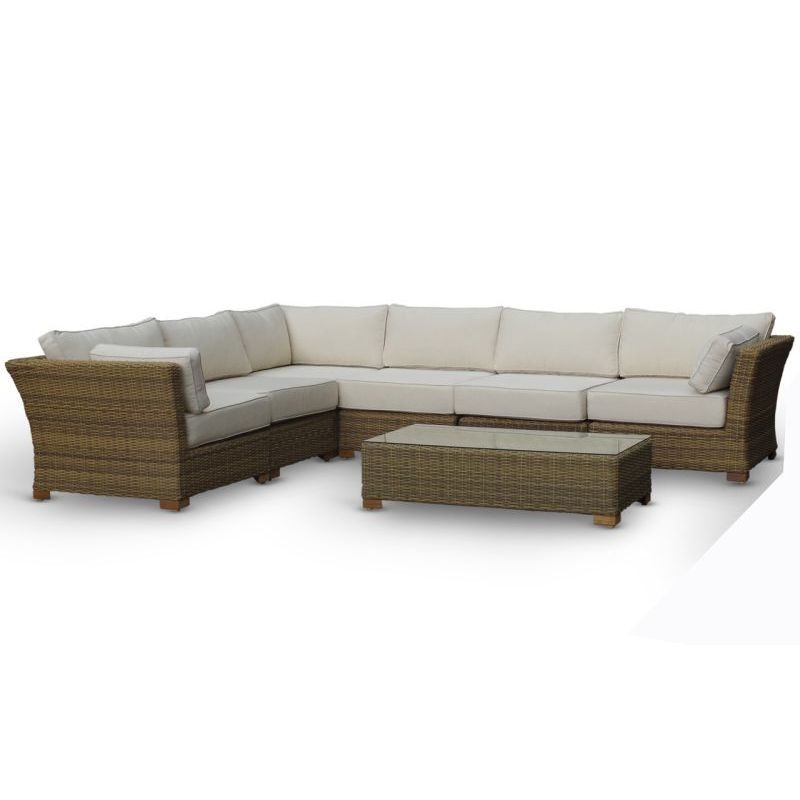 Athens 4 Piece Corner Set With Table And Chaise In 2020 Chaise Outdoor Sectional Sofa Furniture Covers