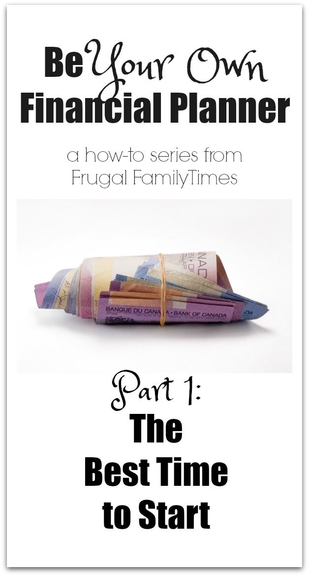How to be your own financial planner. A 9 part series to help you save your own money.