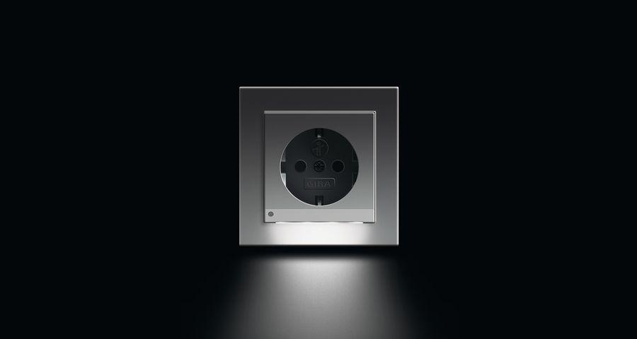 Gira Led Illumination And Orientation Led Stopcontact Licht