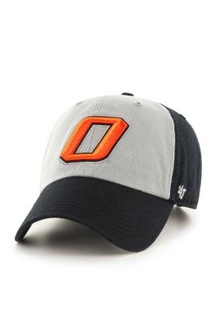 53bc00d3c5e 47 Oklahoma State Cowboys Mens Black Clean Up Adjustable Hat ...