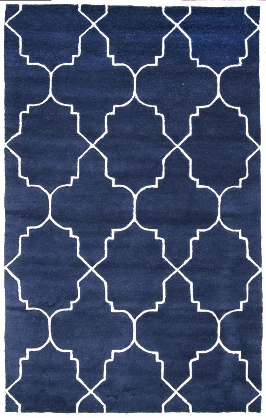Rugs Usa Savanna Lattice Ve23 Rug Navy Rugnavy Blue Area