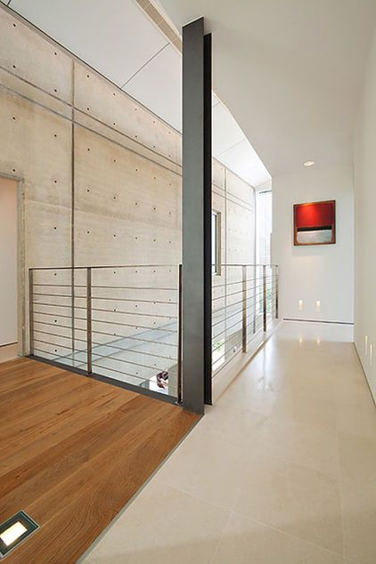 modern hall by Elad Gonen & Zeev Beech | Interior railings ...