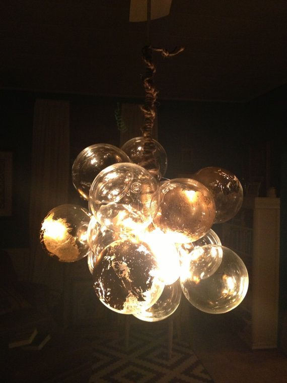 Ethereal Gilded Floating Glass Bubble By Thelightfactory On 300 00