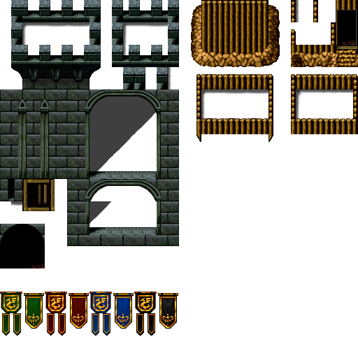 Tile Set RPG Maker VX Ace Castle | dfhdf | Rpg maker vx, Rpg