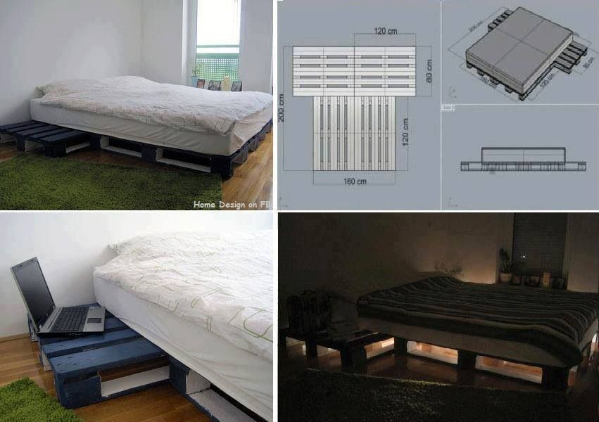 Pin By Jennifer Ledenney On Diy Crafts Diy Pallet Bed Pallet
