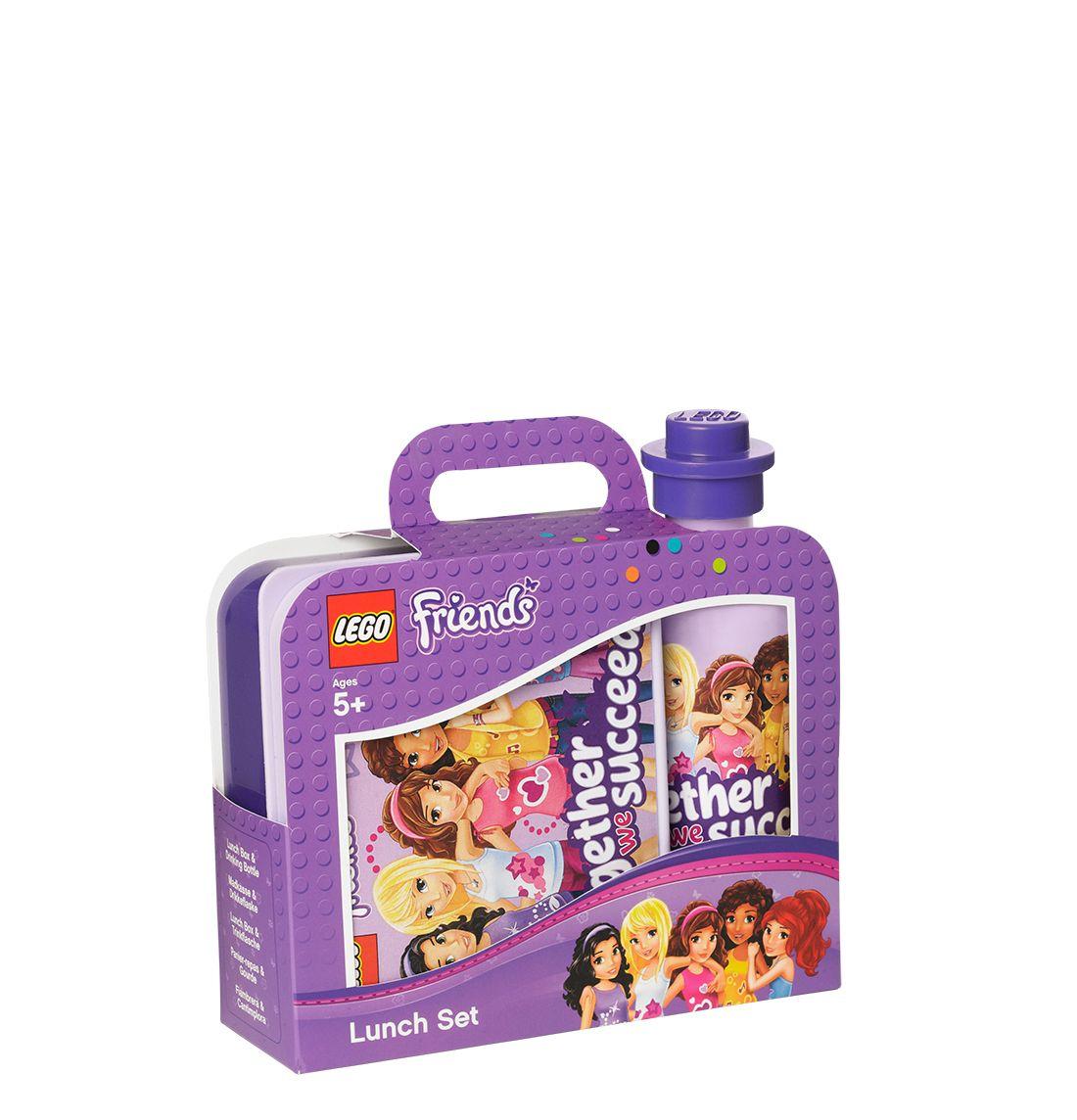Fede Lego frokost sæt, 40591732, Friends Lavender   til Rygsække til hverdag og fest