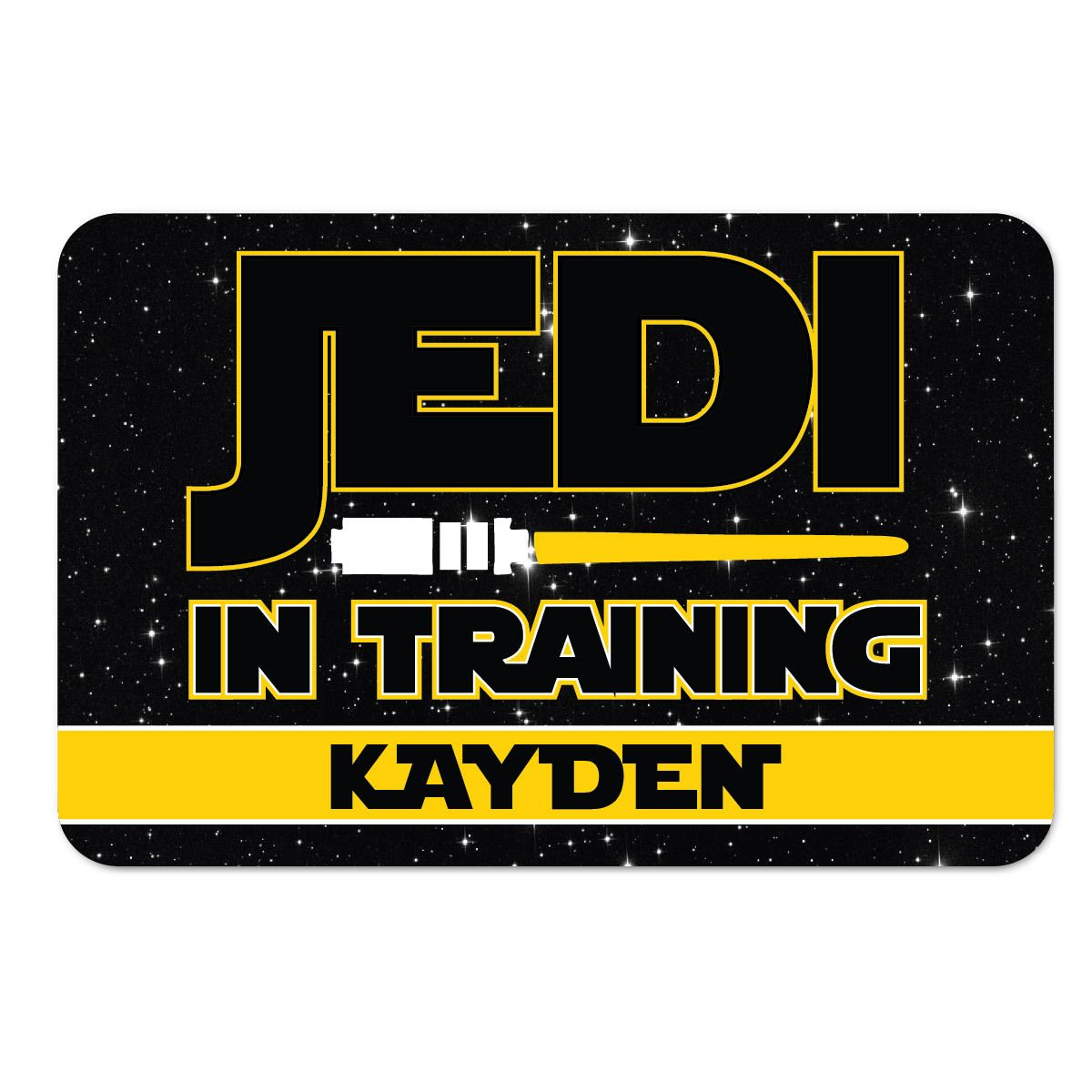 Jedi In Training Laminated Placemat More Colors