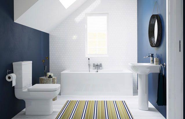 Cubitt Designer 3 Piece Bath Suite 021 Traditional Bathroom Suites Straight Baths Toilet Vanity Unit