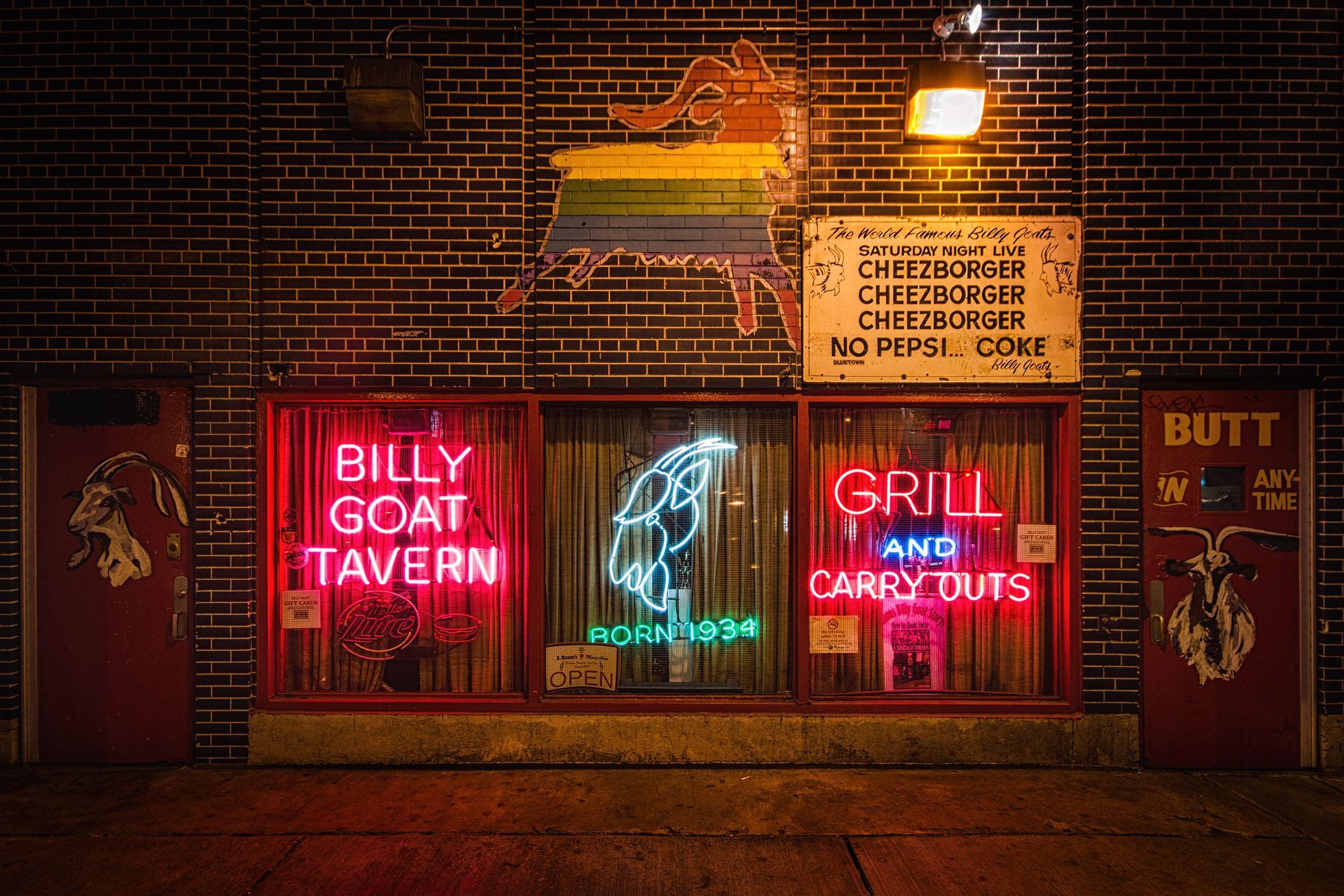 Billy Goat Tavern - Lower Wacker Drive - Chicago, IL | Best of ...