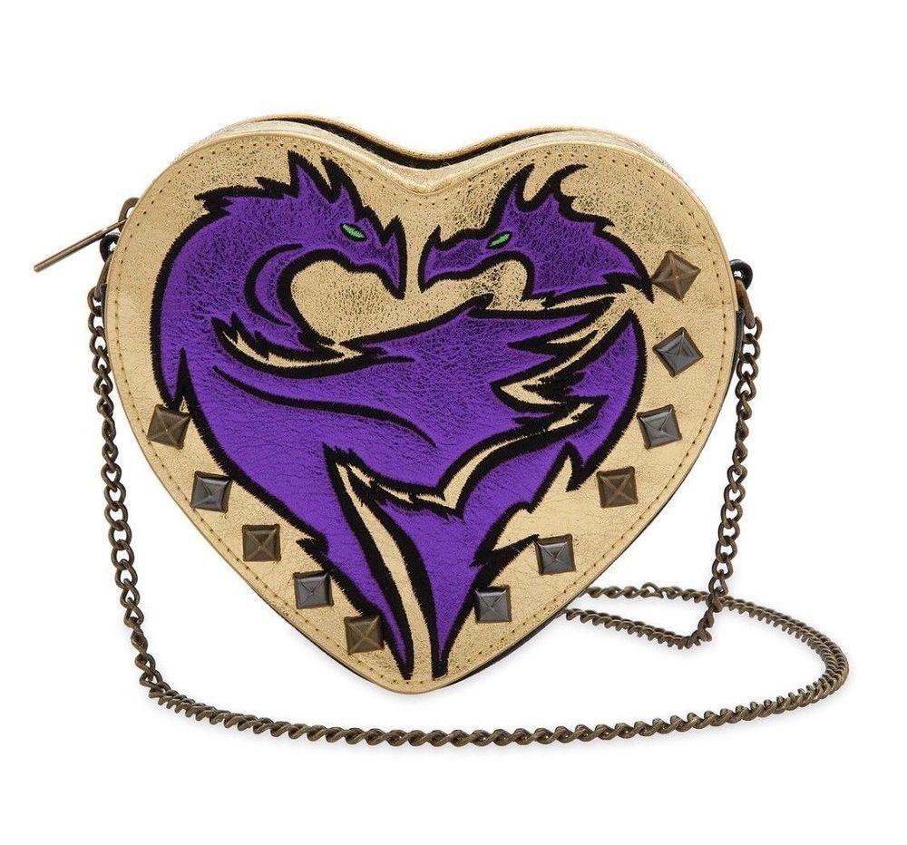NEW Disney DESCENDANTS Villain EVIE Shoulder Purse Crossbody Bag Handbag-FREE SH
