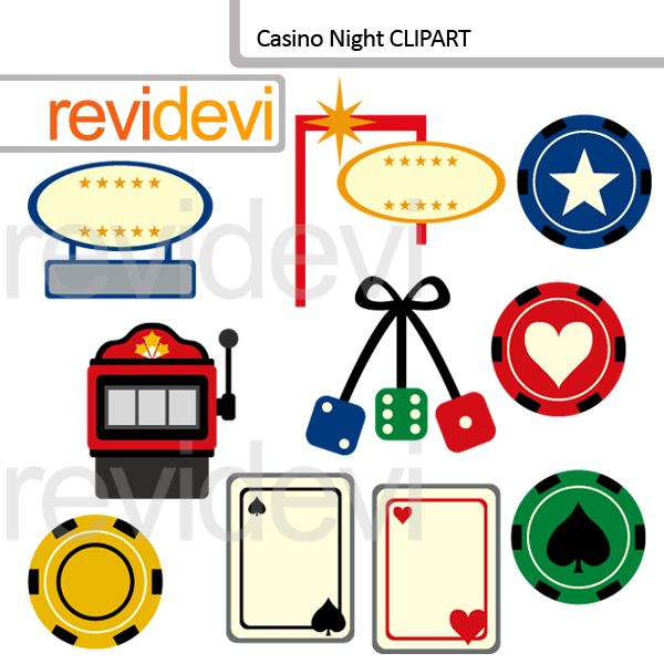 Casino Night clipart