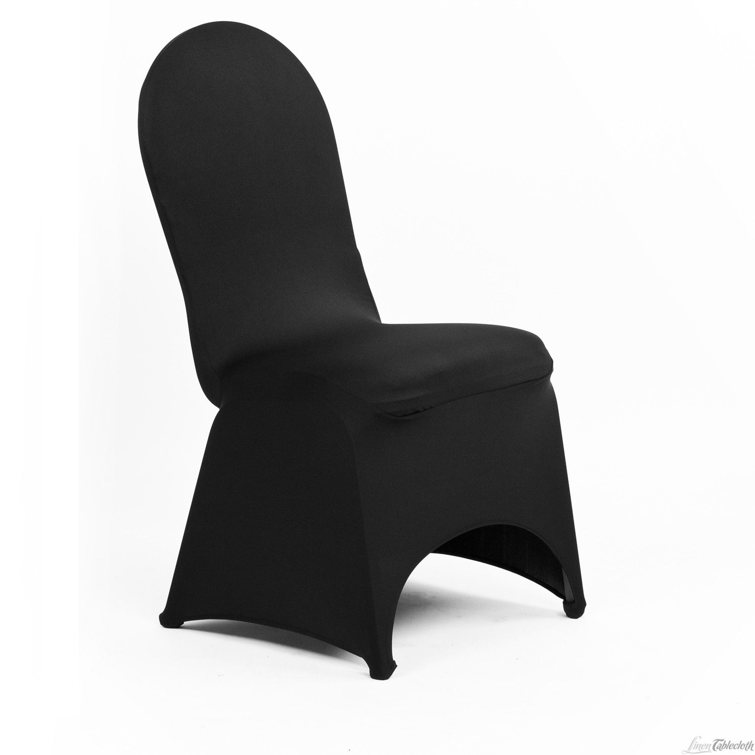 Stretch Banquet Chair Cover Black