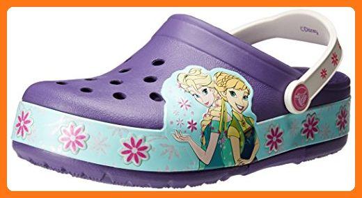 fc497c6fc472e2 crocs Frozen Fever Light-Up Clog (Toddler Little Kid)