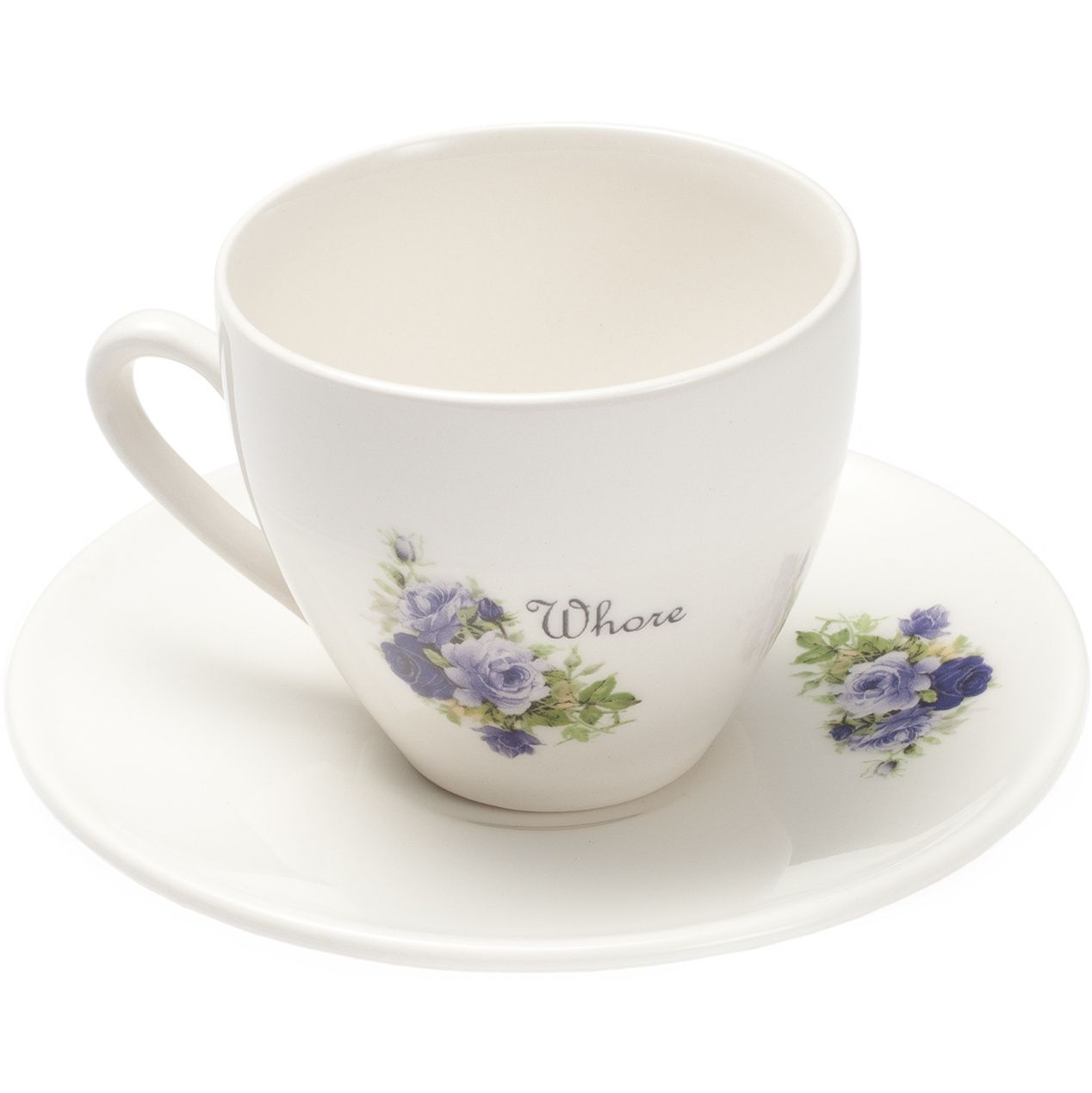 Whore Teacup And Saucer Ahahaha Love It For The Home Pinterest ~ Tazas Para Infusiones El Corte Ingles