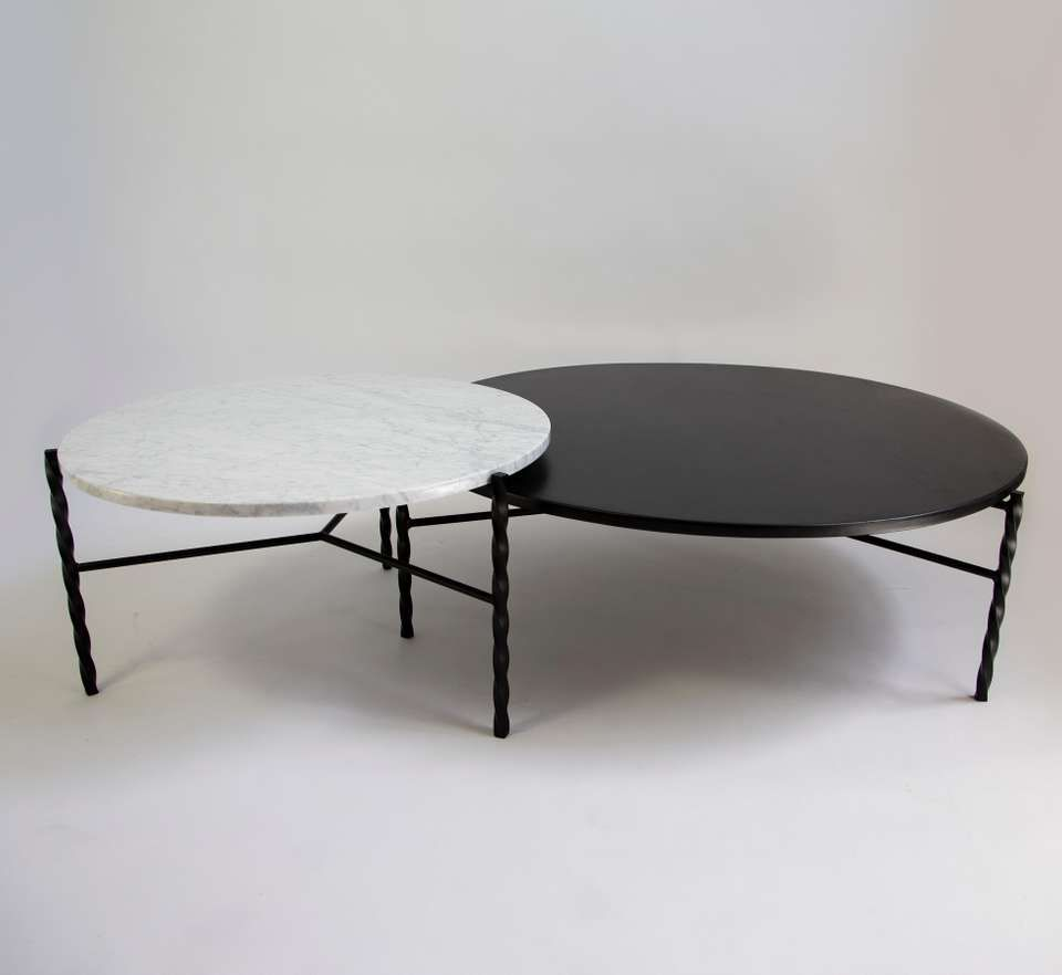 Customizable Von Iron Nesting Coffee Table From Souda Made To