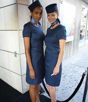 Image result for porter airlines flight attendant uniform