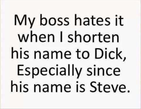 my name is steve