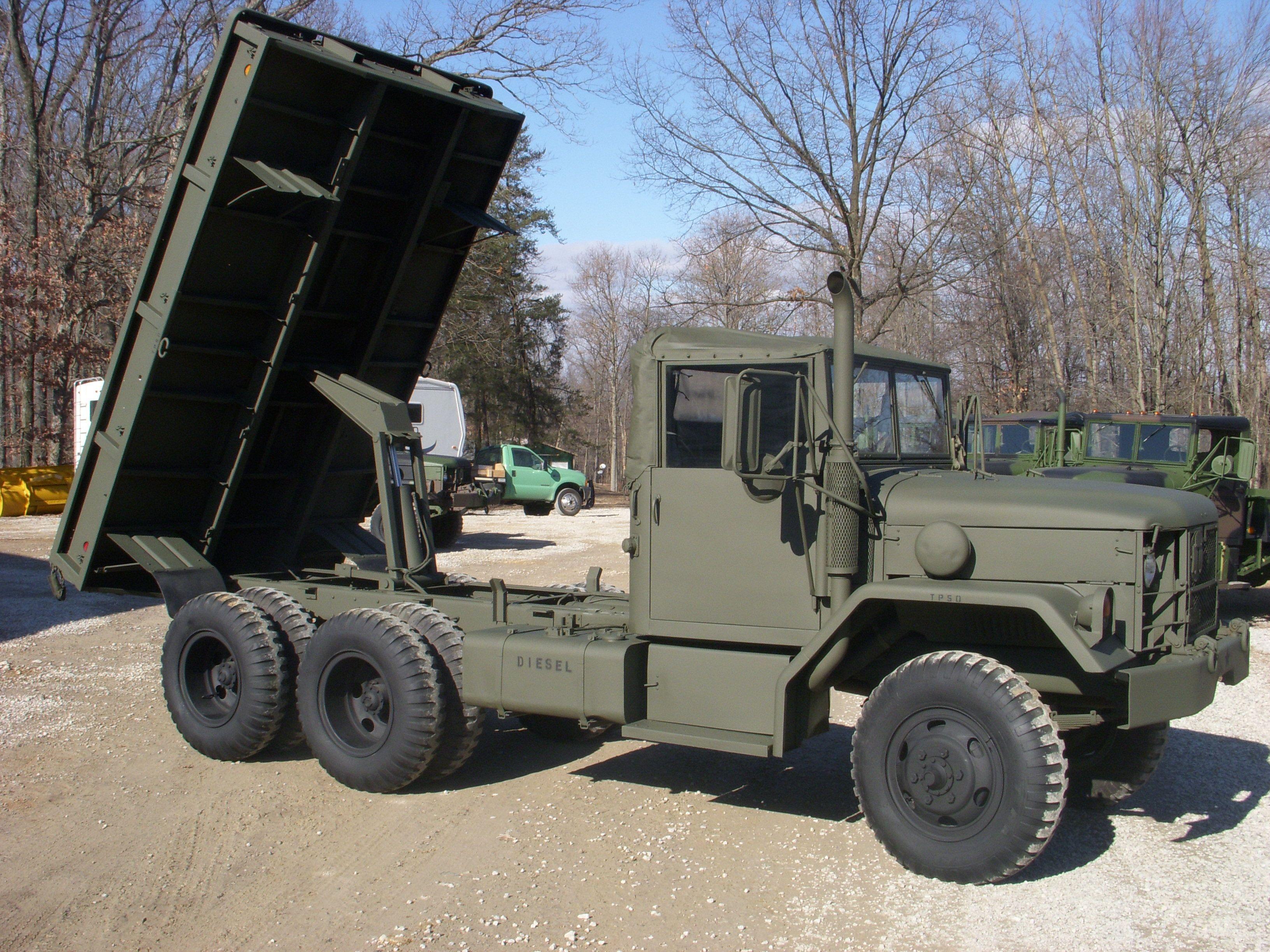 6x6 2 5 ton custom dump bed | Military Cargo Trucks | 6x6 truck
