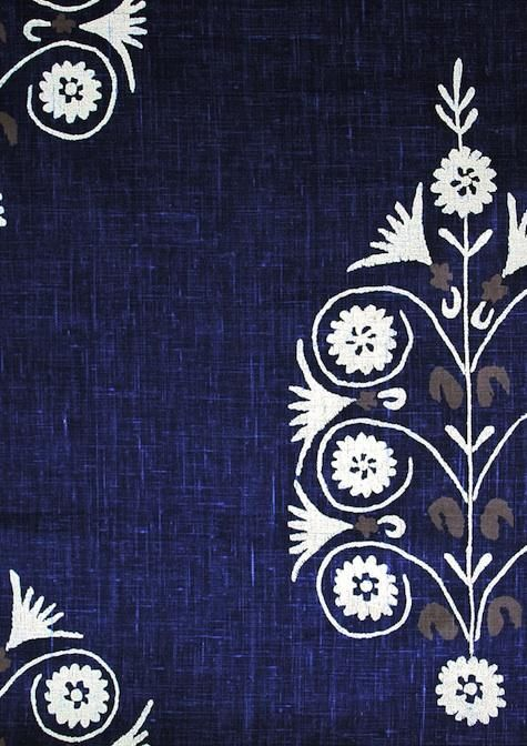 Jaisalmer Print Borderline Fabrics Remodelista Fabric Patterns Patterned Linens Fabric