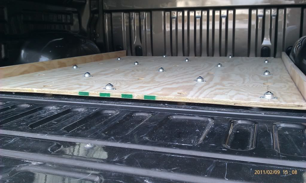 Pictures DIY Bed Storage system for my truck (With