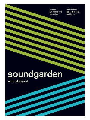 Soundgarden - Rainbow (Poster Print)