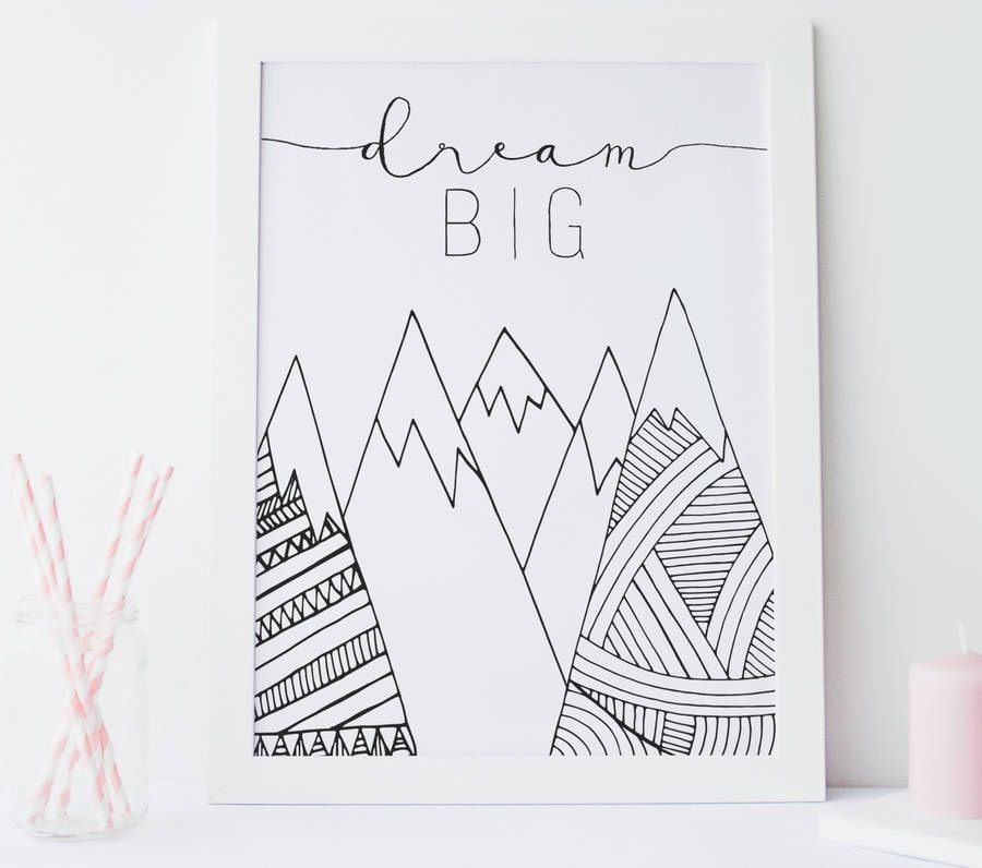 Dream Nursery Wall Art Print