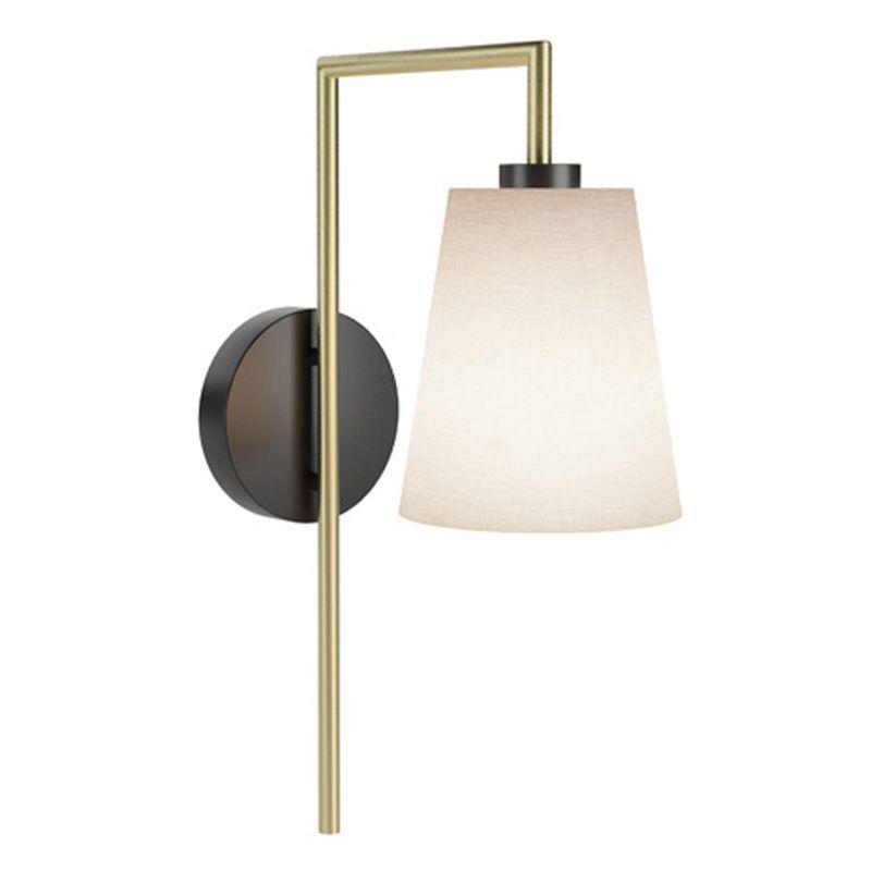Satin Brass And Matt Black Wall Light Lighting Hospitalitydesign