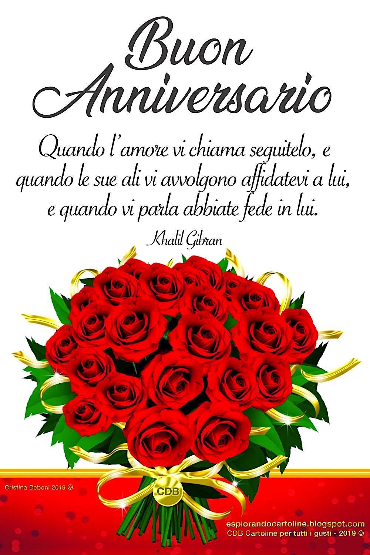 Cdb Cartoline Per Tutti I Gusti Cartolina Buon Anniversario Quando L Amore Vi Buon Anniversario Anniversario Immagini Di Anniversario Di Matrimonio