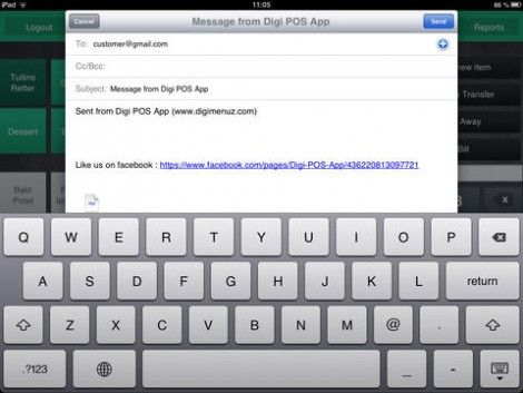Resto Pos Lite For Ipad Pos Ipad App